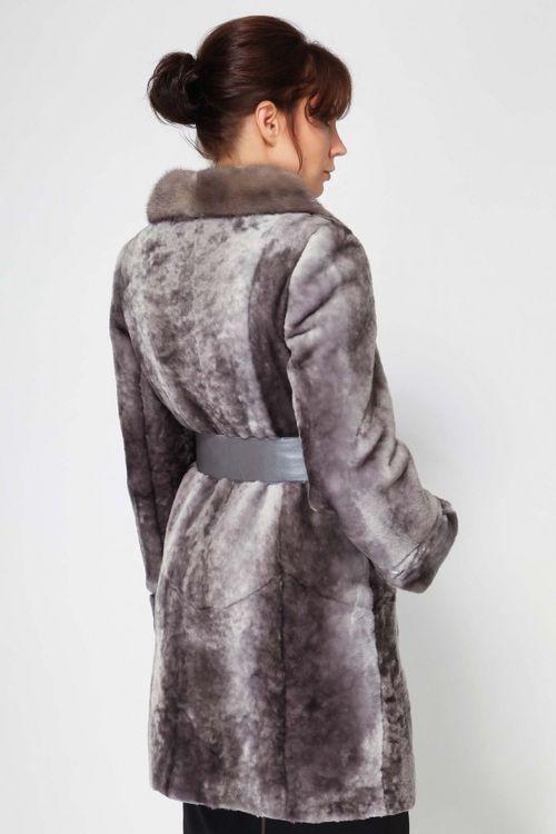 Модные мутоновые шубы: фото модели 2016 для зимы - отзывы