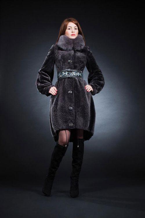 Модные мутоновые шубы: фото модели зима 2016 - 2017