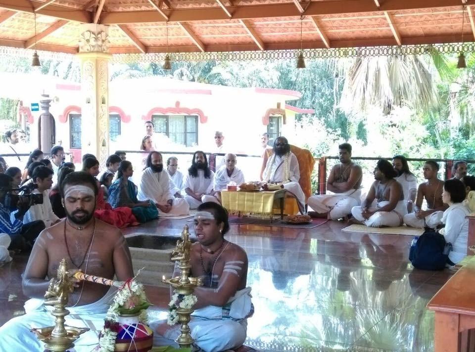 Guru Ji and me Bangalore