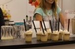 Monin had baristas on hand making some delicious cold coffee drinks.