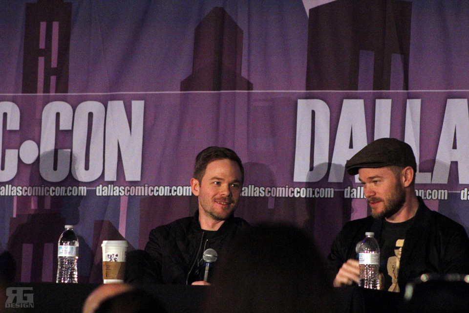 """""""X-Men""""'s Shawn Ashmore and """"Killjoy""""'s Aaron Ashmore spoke at their panel on Sunday, Oct. 18 at the Dallas Comic Con Fan Days at Irving Convention Center."""