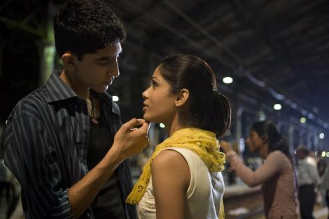 "Dev Patel and Freida Pinto starred in the 2009 Best Picture winner, Danny Boyle's ""Slumdog Millionaire."" / Photo courtesy of indiafacts.org"