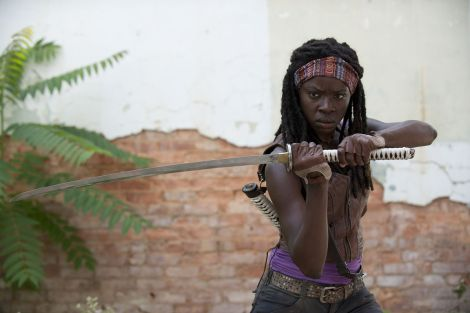 """Michonne from """"The Walking Dead"""" / Photo courtesy of Gene Page/AMC"""