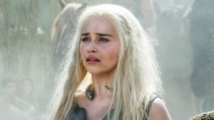 Emilia Clarke as Daenerys Targaryen. Photo- HBO.com