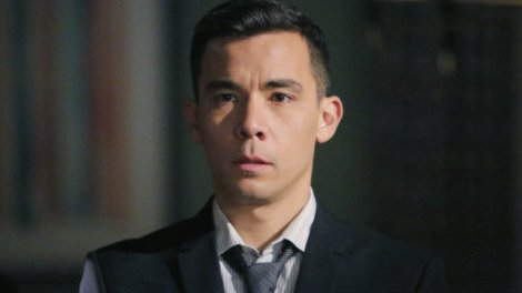 """Oliver from """"How to Get Away with Murder"""" played by Conrad Ricamora"""