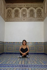 This is the Harem in the palace. A harem is a place reserved for wives or female servants.