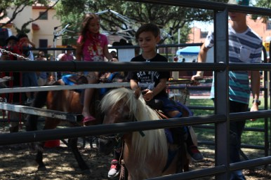Even the youngest cowboys got their own horses. / Photo by Parker Conley