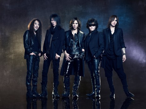 """The current incarnation of X Japan in Drafthouse Films' """"We Are X."""" / Courtesy of Drafthouse Films"""