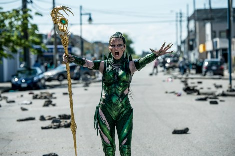 Elizabeth Banks stars as 'Rita Repulsa.' Photo Credit: Kimberley French