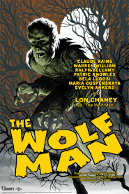 The Wolf Man by Eric Powell | Photo courtesy of Mondo