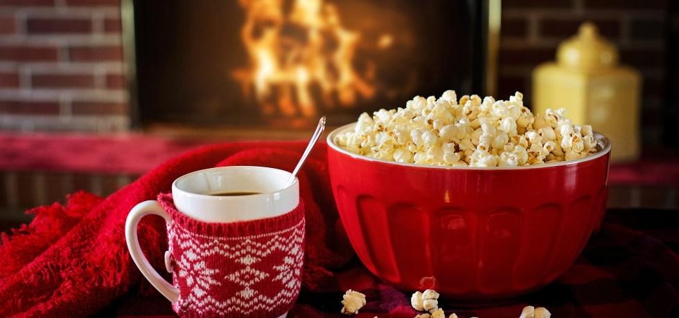 Christmas and Popcorn