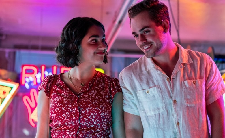 Dacre Montgomery and Geraldine Viswanathan star in TriStar Pictures' THE BROKEN HEARTS GALLERY.