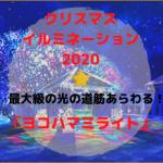 クリスマスイルミネーション・2020!最大級の光の道筋!あらわる「ヨコハマミライト」
