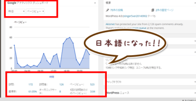 Google Analytics Dashboard for WPをちょっと使いやすくする方法