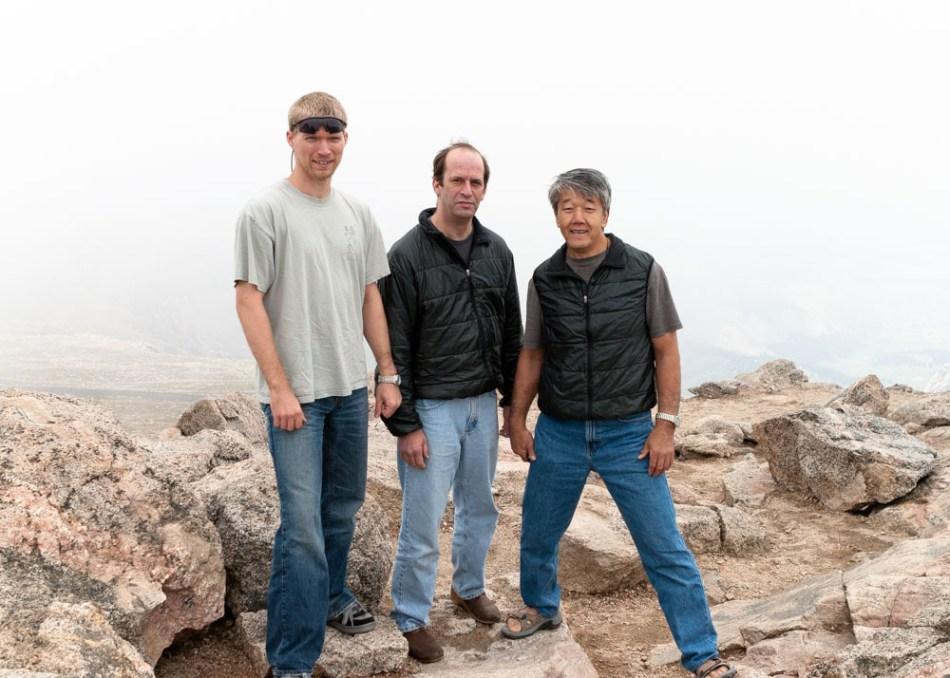 Ikeda Sensei and Kevin Choate