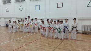 Club de Karate ShuHaRI antrenament copii