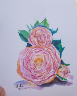 Modest Innocence – Watercolor Artwork