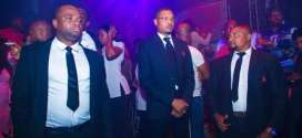 Shina Peller Nightlife king plays role of bouncer, waiter, bartender to celebrate new year