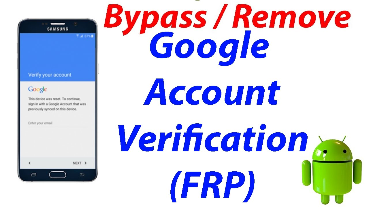 Android: Best tip to bypass the google verification after resetting