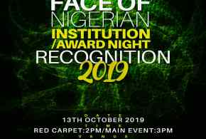 EVENT: Face of Nigeria institution award night recognition 2019