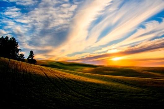 Sunset at Kamiak Butte