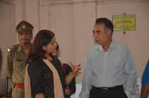 Director General & Inspector General of Correctional Services, West Bengal, Mr. A. K. Gupta and Rupsi Burman