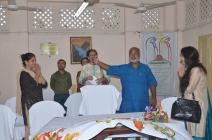 Flight to Harmony Foundation, Founder Mr. Chitta Dey introduces SHURU KOLKATA Founder Rupsi Burman to Kaushiki Chakraborty