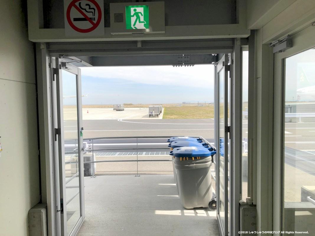 関西空港第2ターミナルの出口