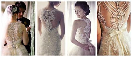 新娘性感大爆發! 噴鼻血的美背婚紗你選哪一款?