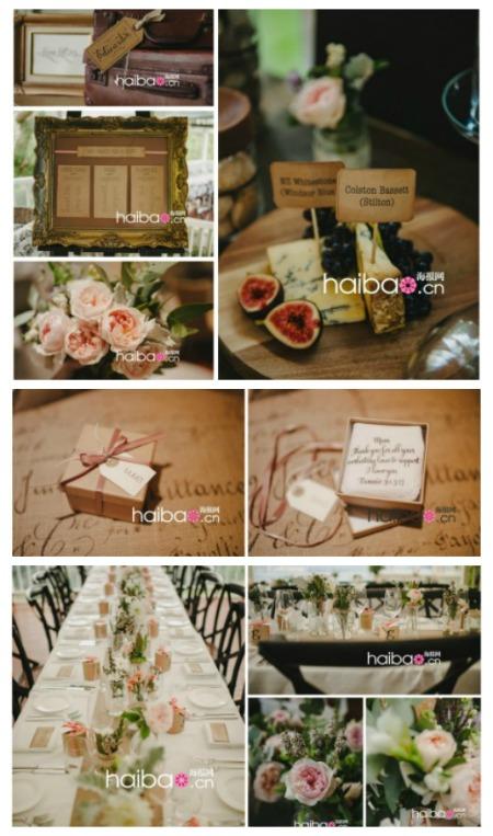 打造屬於自己的婚禮風格-復古花園婚禮饗宴