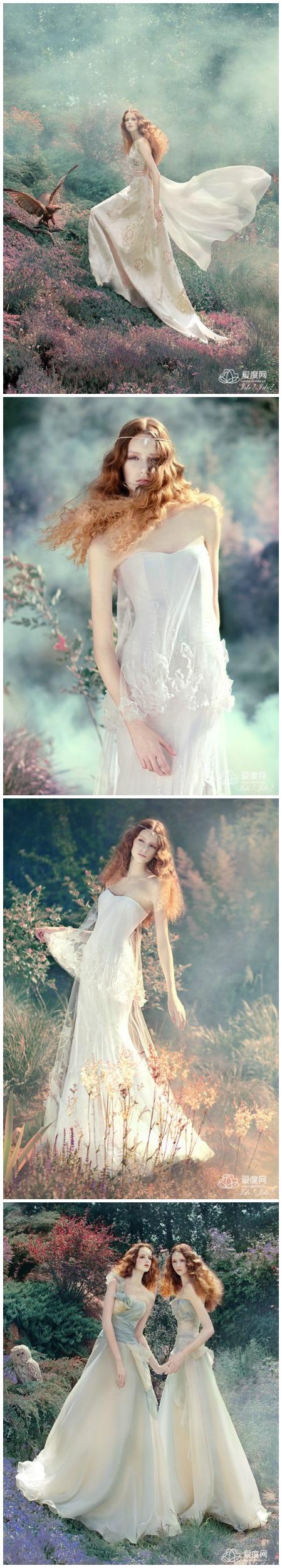 婚紗拍攝風格系列-幽美魔幻的童話世界