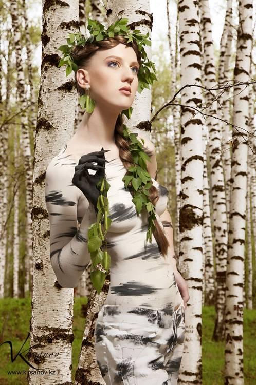 Картинки про девушку и березу 👱♀️ (24 фото) | shutniki.club