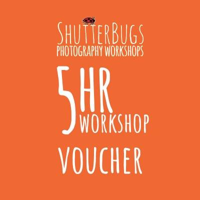 Shutter Bugs 5hr Voucher