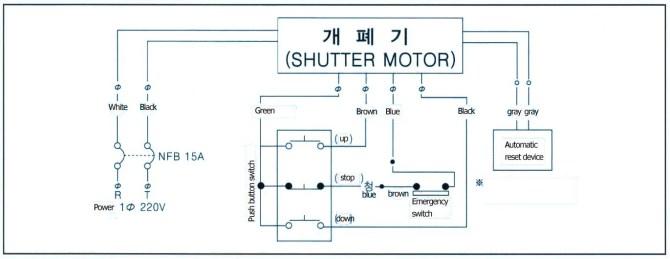 shutter motor wiring diagram  1999 mitsubishi montero