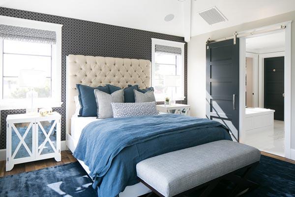 75 Brilliant Blue Bedroom Ideas And Photos