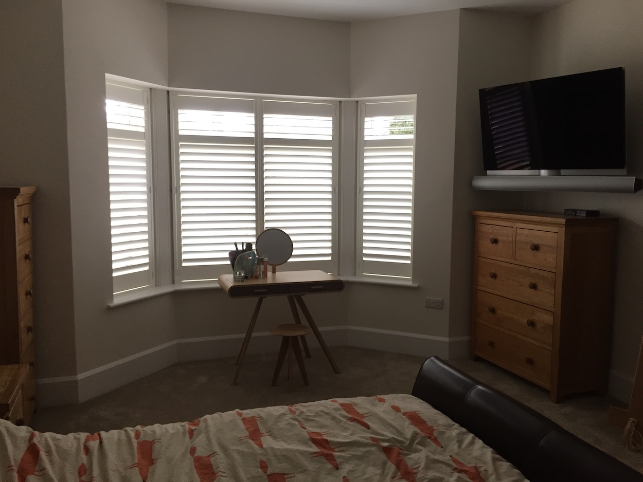 Bay Windows With Plantation Shutters Shutter Perfection