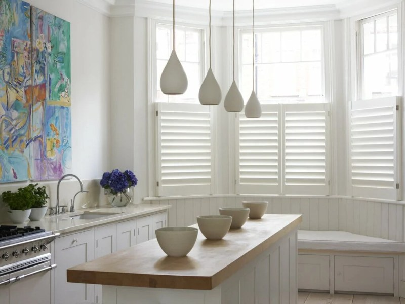 cheap cafe style shutters