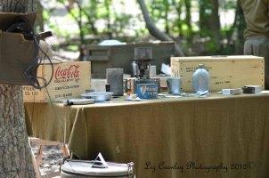 WWII U.S. Army sustenance display.