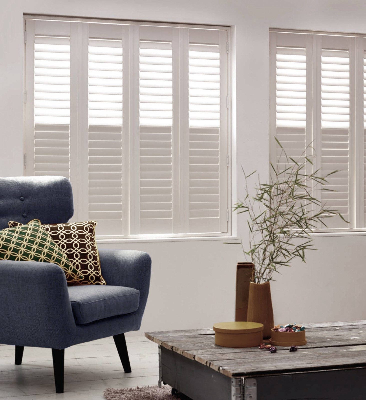 How To Create A Scandi Style Room With Wooden Shutters