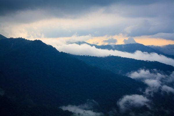 landscape photo using 50mm lens. Gavi, kerala