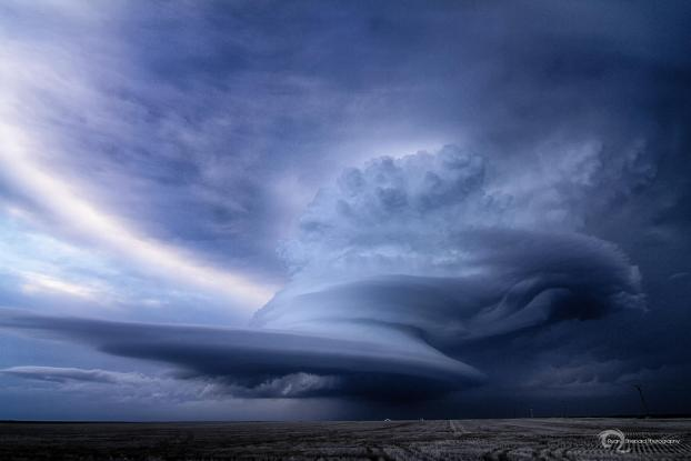 Supercell Thunderstorm Ovid, CO -- landscape photos in bad weather
