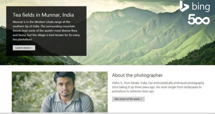vidhusoman featured in Bing