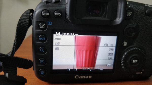 Shutter speed 1/15 exposure for DSLR