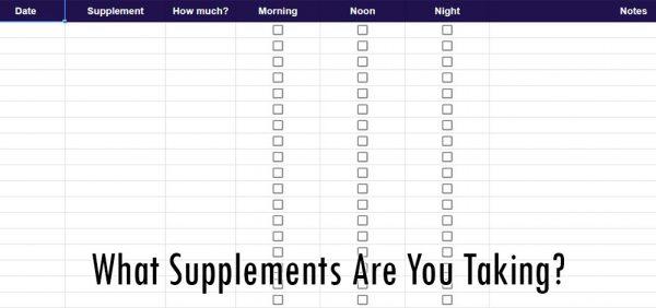 Supplement Tracker