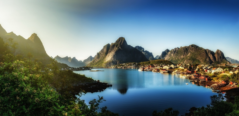 Village Of Reine Norway Beautiful Places Best Places