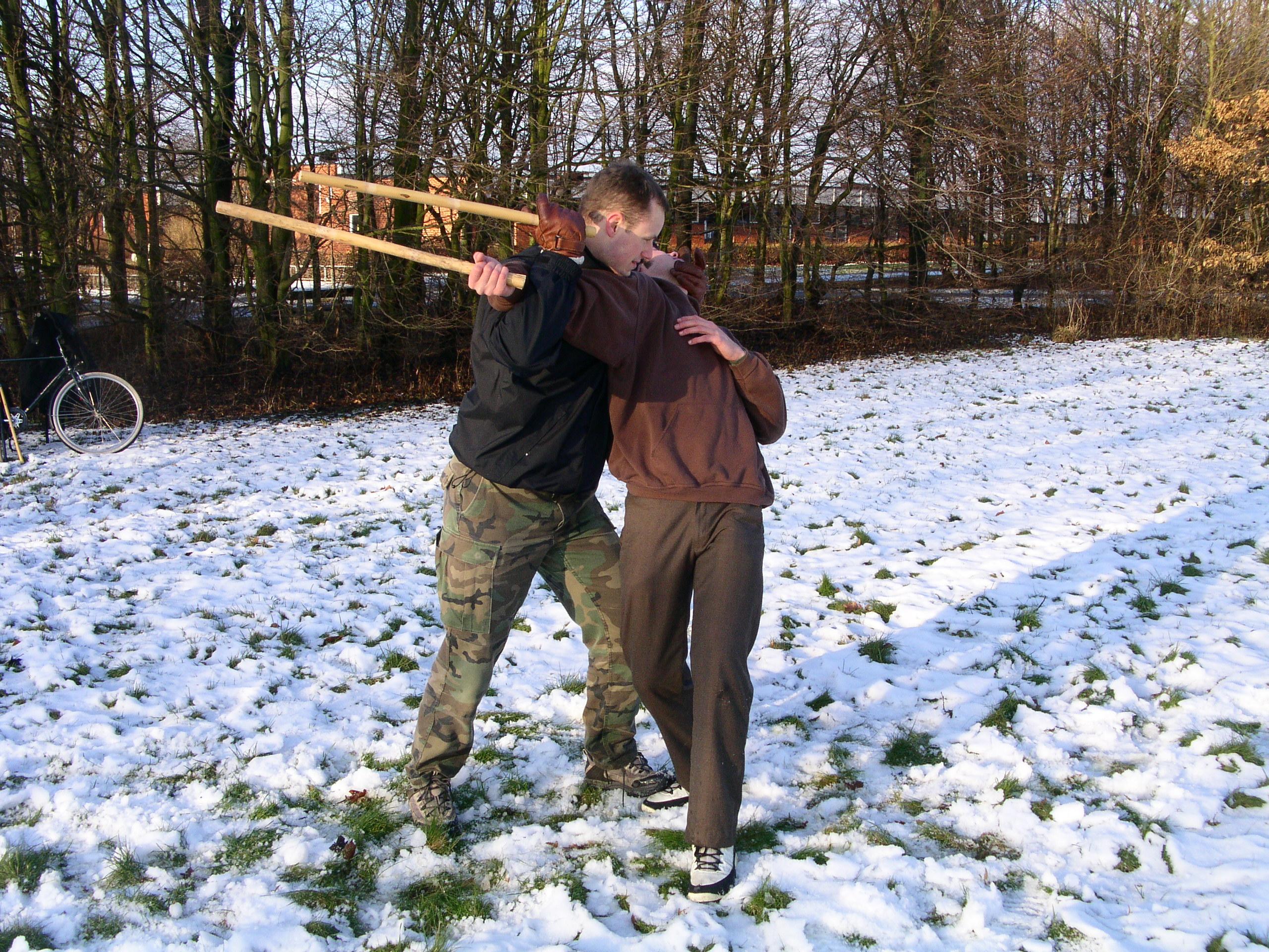 Martin och Johan - Beväpnad kamp