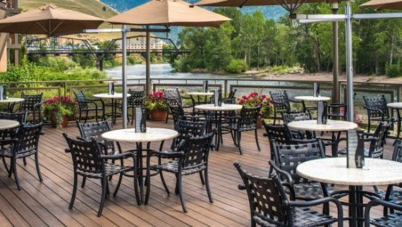 best patio in missoula - Finn - Clark Fork River views