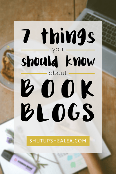 7 things you should know about book blogs