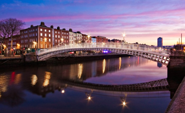 The River Liffey, Dublin by Barry O Carroll