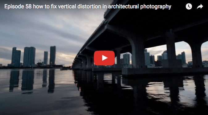 How to fix vertical distortion in architectural photography